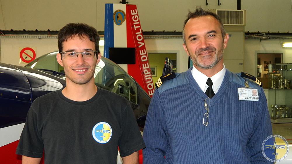 Murilo Rovina e Pierre Varloteaux