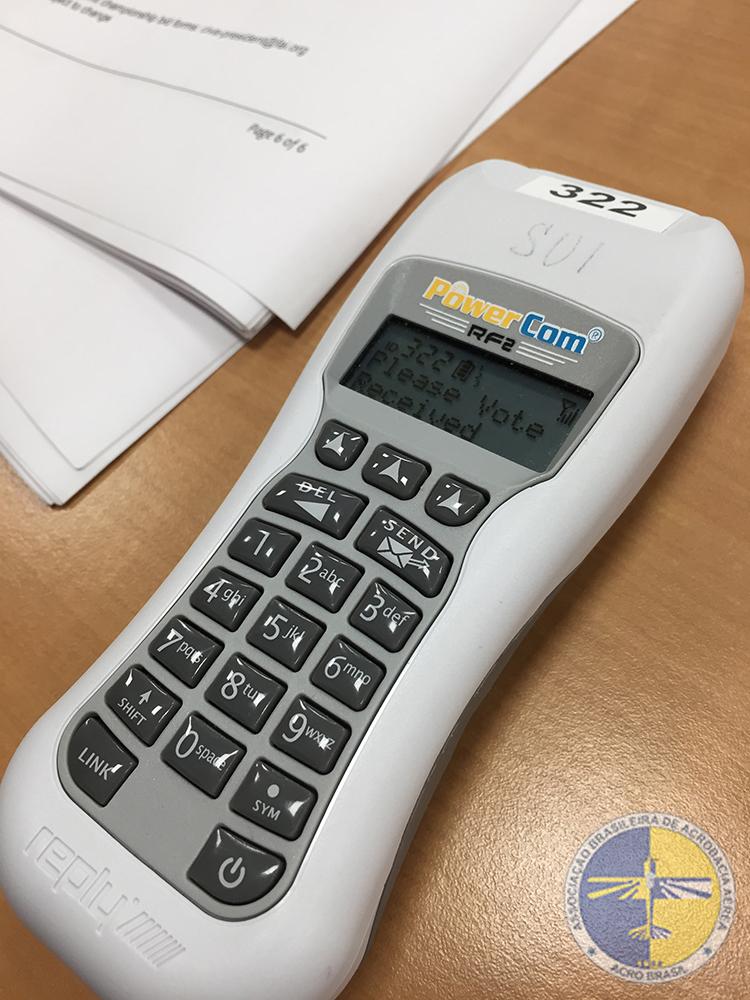 Dispositivo para votação