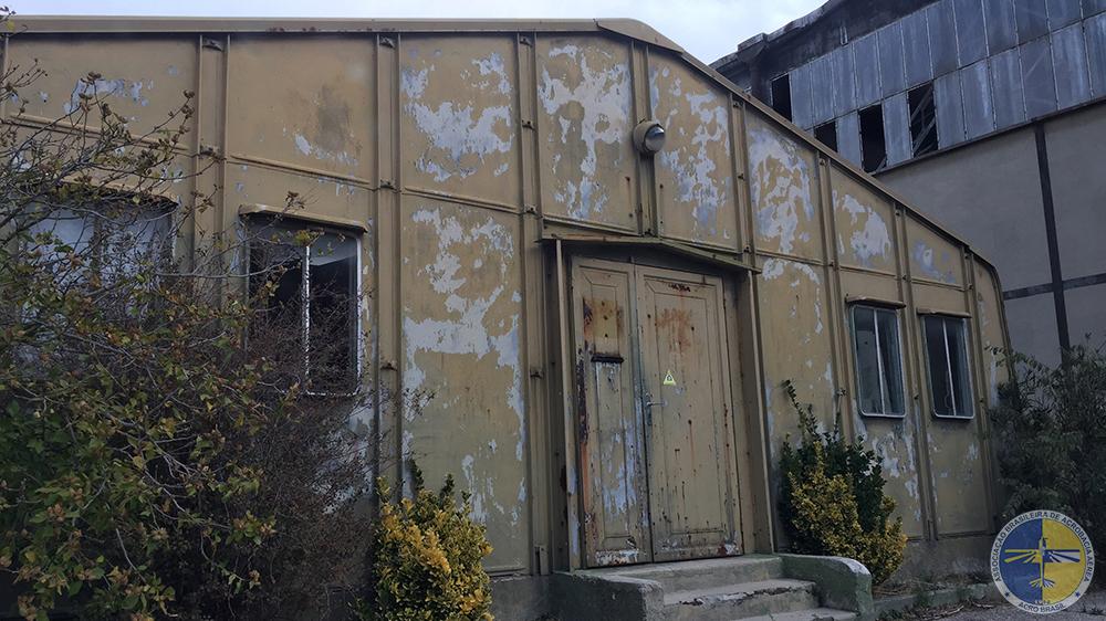 Antigo Hangar da EVAA