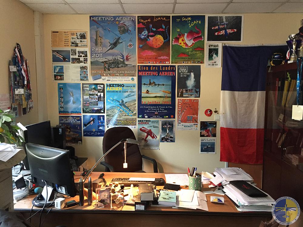 Escritório do Pierre Varloteaux
