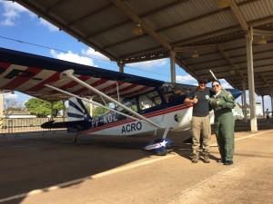 Jorge e a Tenente-Aviadora Paula