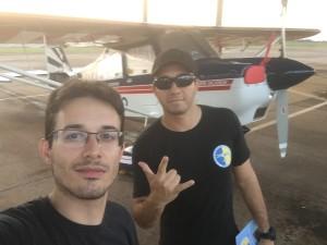 Murilo e Jorge ao lado do PP-KDZ na AFA
